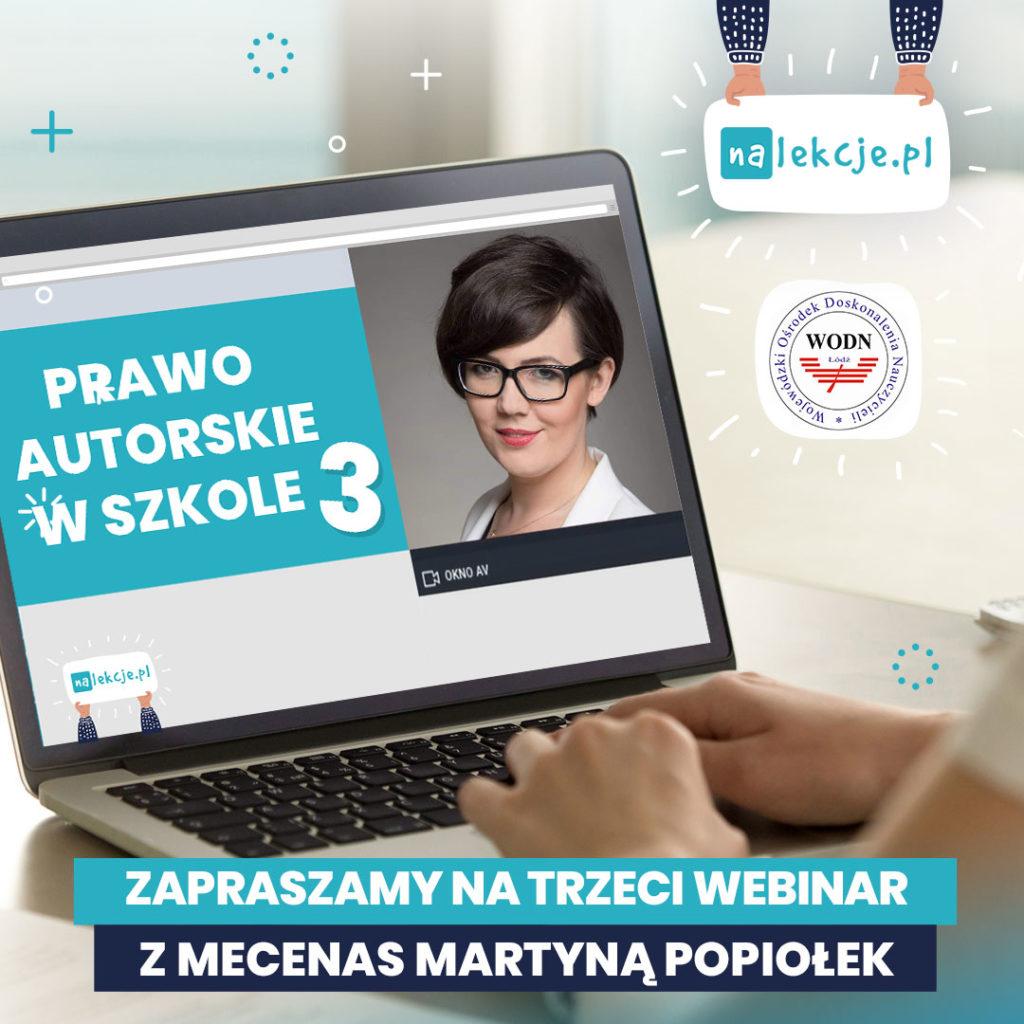 Prawo autorskie w szkole _webinar 3